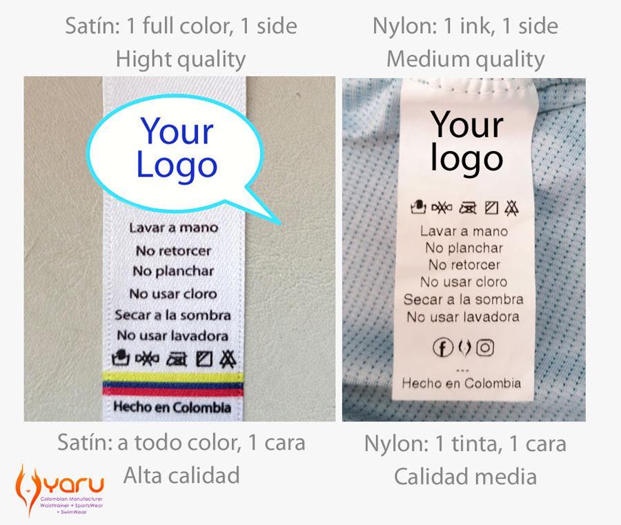 YARU servicio etiquetado maquilado ropa deportiva colombiana mayorista